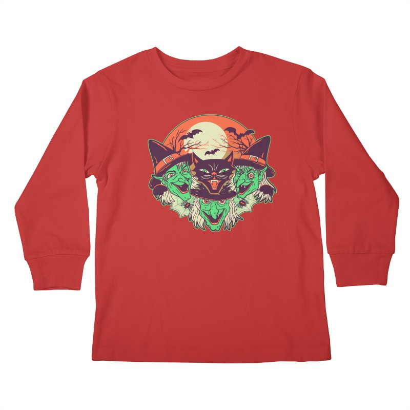 My Witches Kids Longsleeve T-Shirt by hillarywhiterabbit's Artist Shop