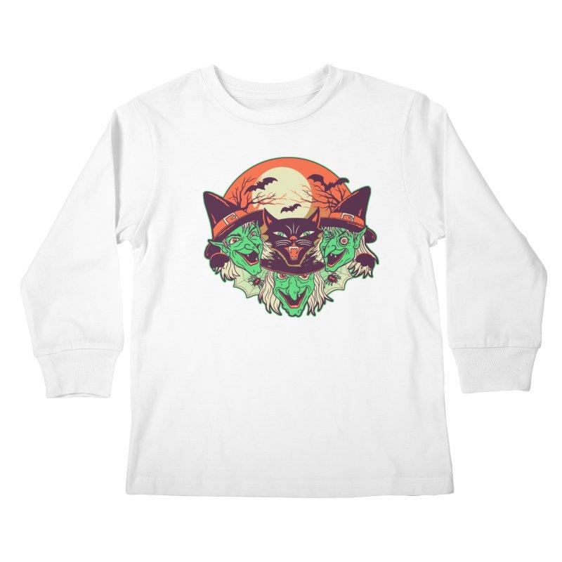 My Witches Kids Longsleeve T-Shirt by hillarywhiterabbit's Artist Shop