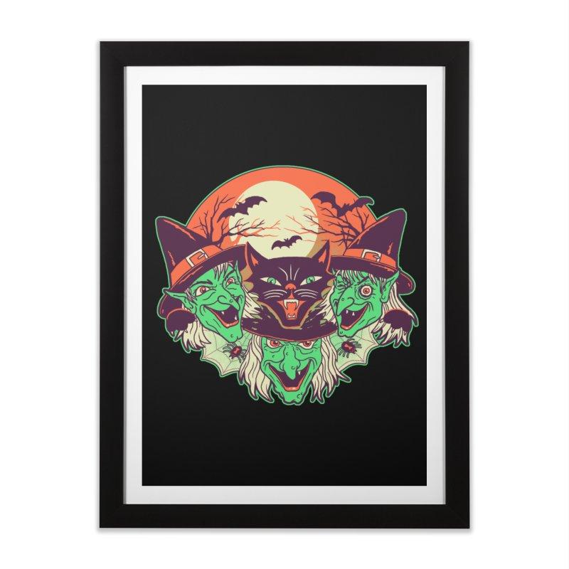 My Witches Home Framed Fine Art Print by hillarywhiterabbit's Artist Shop