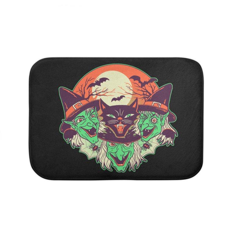 My Witches Home Bath Mat by hillarywhiterabbit's Artist Shop