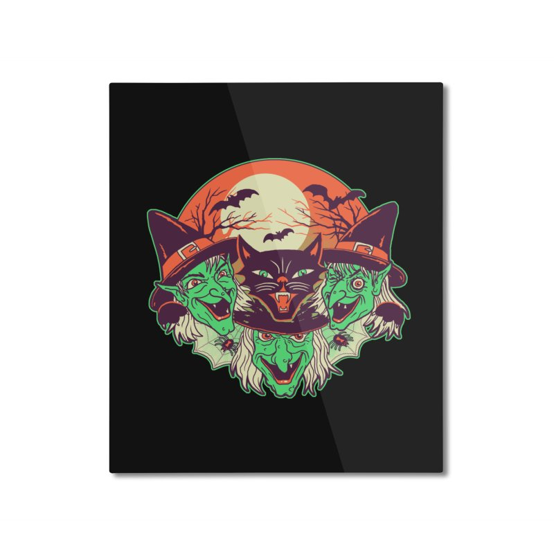 My Witches Home Mounted Aluminum Print by hillarywhiterabbit's Artist Shop