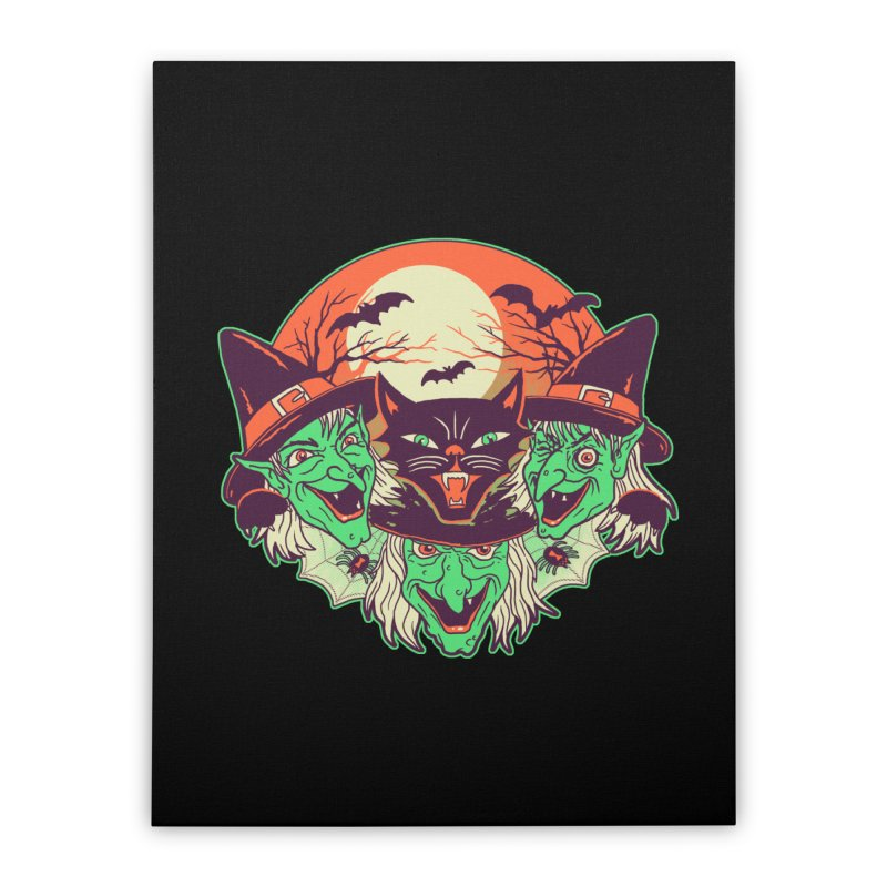 My Witches Home Stretched Canvas by hillarywhiterabbit's Artist Shop