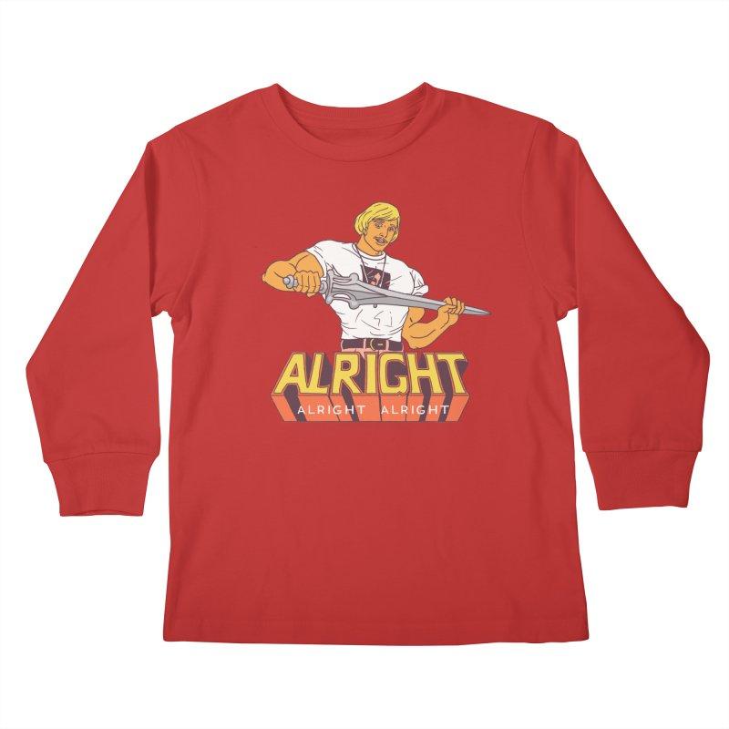 Master of Chill Kids Longsleeve T-Shirt by hillarywhiterabbit's Artist Shop