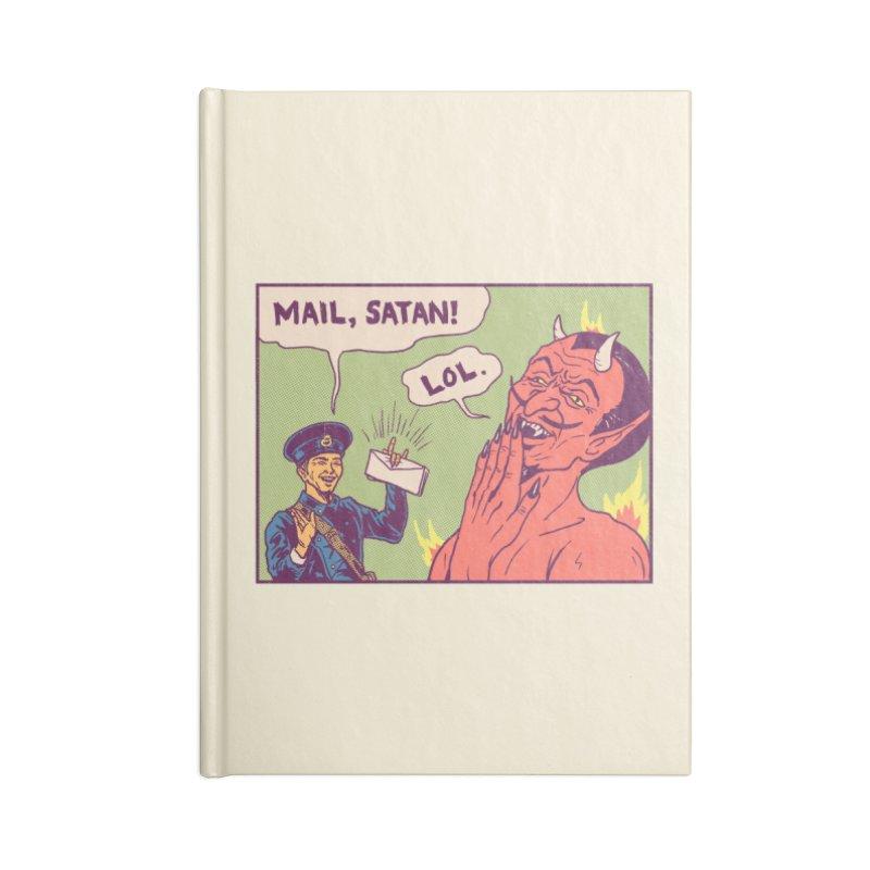 Mail, Satan! Accessories Notebook by hillarywhiterabbit's Artist Shop