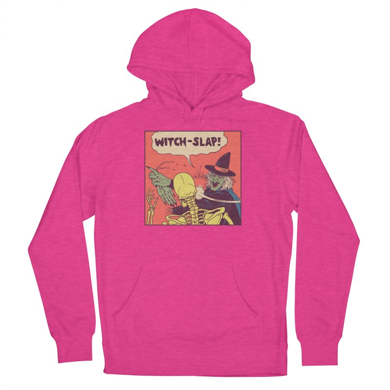 Witch-Slap Women's French Terry Pullover Hoody by hillarywhiterabbit's Artist Shop