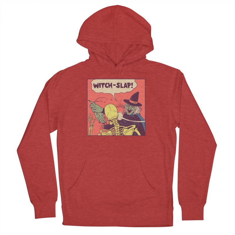 Witch-Slap Men's French Terry Pullover Hoody by hillarywhiterabbit's Artist Shop