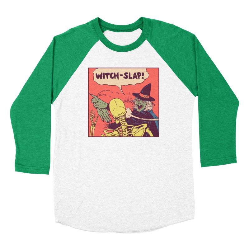 Witch-Slap Women's Baseball Triblend Longsleeve T-Shirt by hillarywhiterabbit's Artist Shop