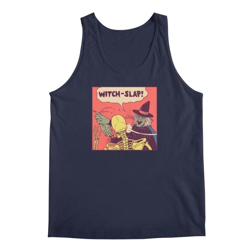 Witch-Slap Men's Regular Tank by hillarywhiterabbit's Artist Shop