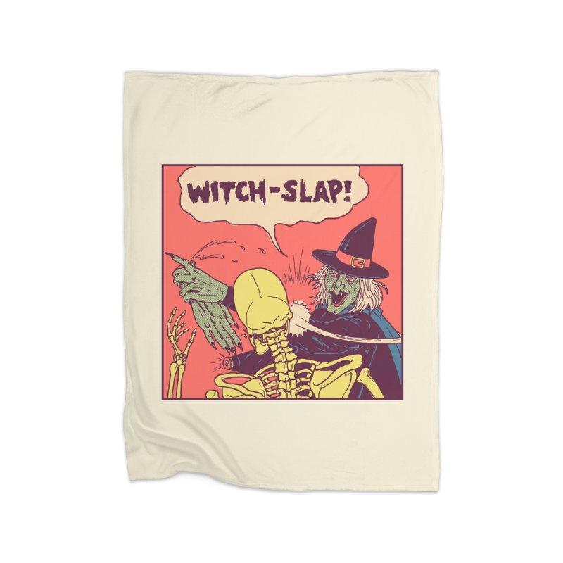 Witch-Slap Home Blanket by hillarywhiterabbit's Artist Shop