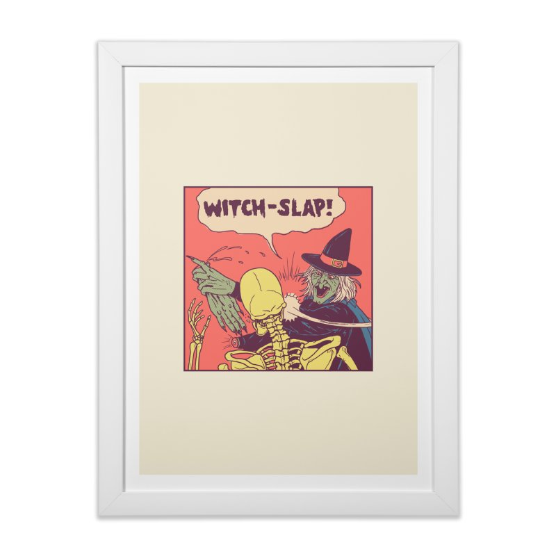Witch-Slap Home Framed Fine Art Print by hillarywhiterabbit's Artist Shop