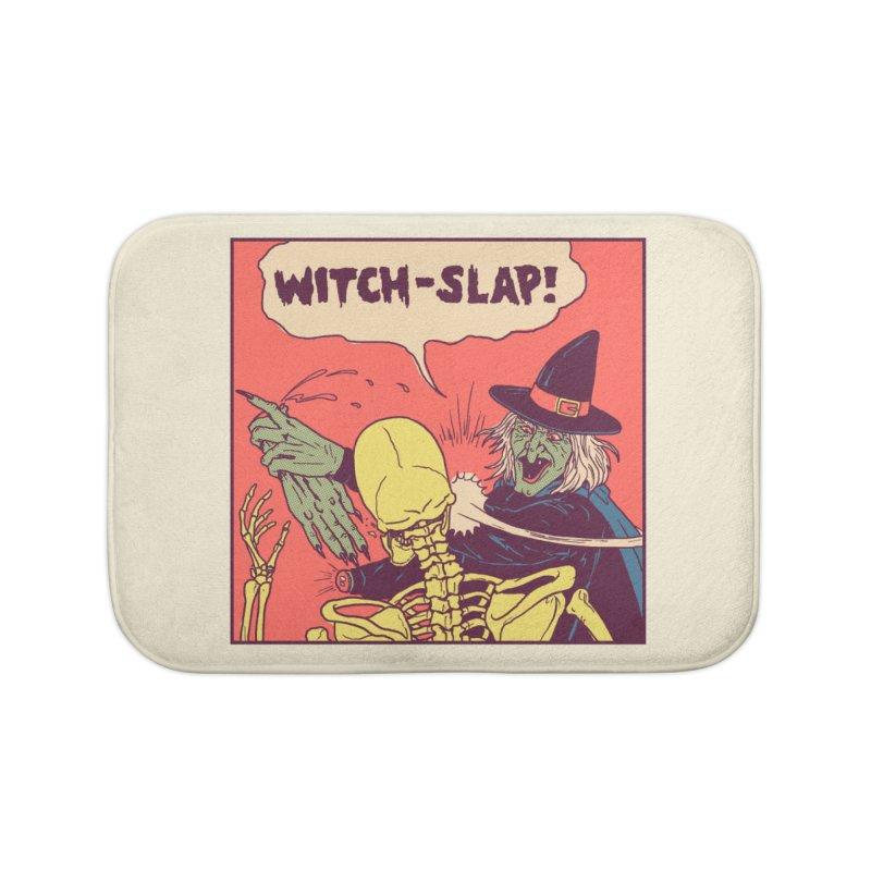 Witch-Slap Home Bath Mat by hillarywhiterabbit's Artist Shop