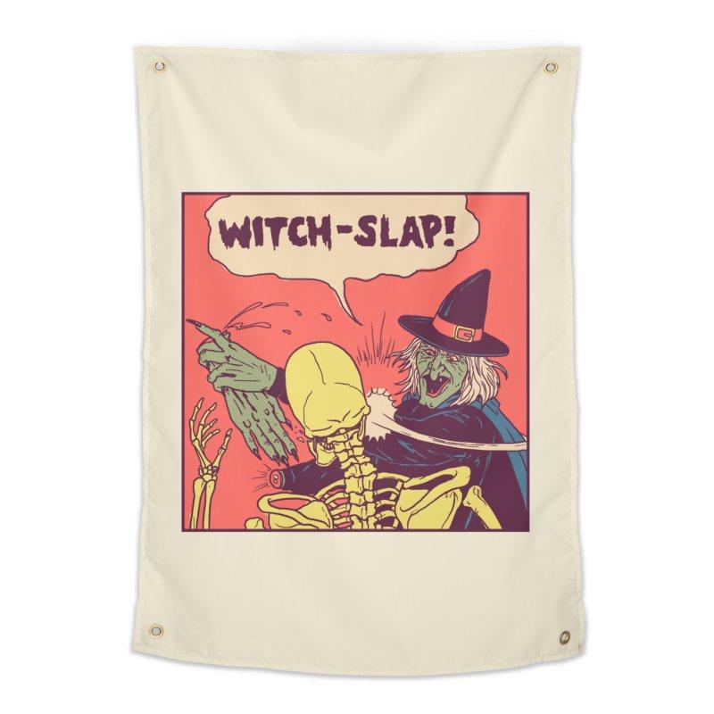 Witch-Slap Home Tapestry by hillarywhiterabbit's Artist Shop