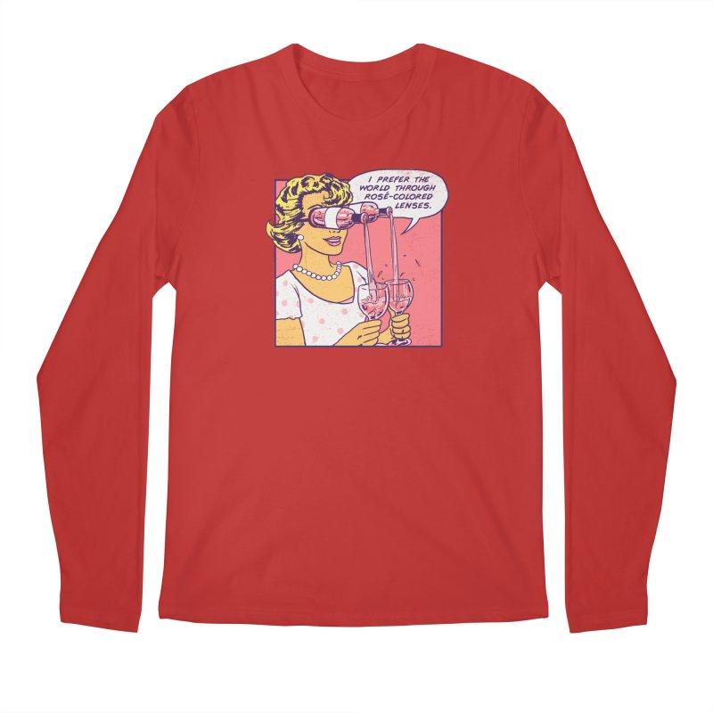 Rose-Colored Lenses Men's Regular Longsleeve T-Shirt by hillarywhiterabbit's Artist Shop