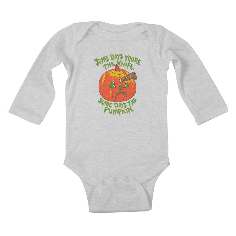 Some Days Kids Baby Longsleeve Bodysuit by hillarywhiterabbit's Artist Shop