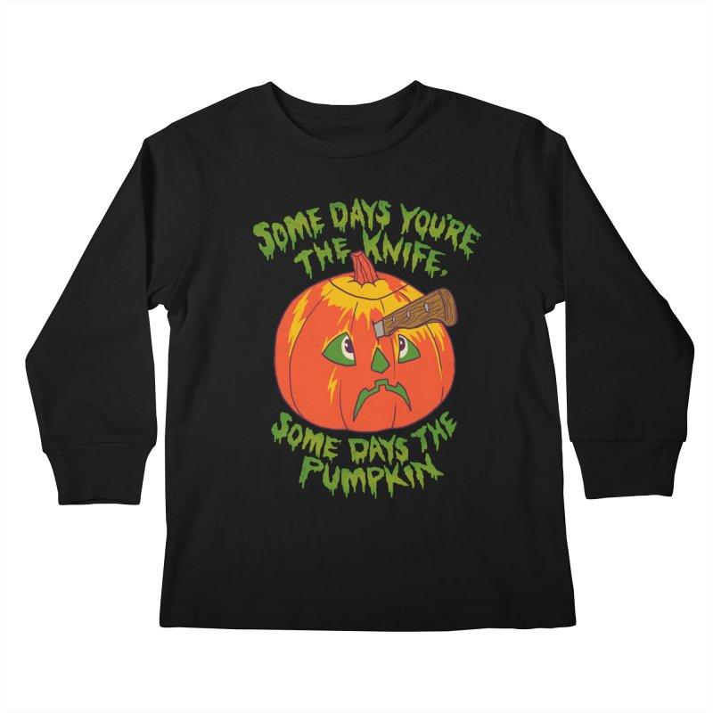 Some Days Kids Longsleeve T-Shirt by hillarywhiterabbit's Artist Shop