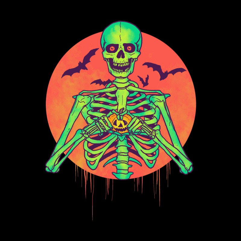 I Love Halloween by hillarywhiterabbit's Artist Shop