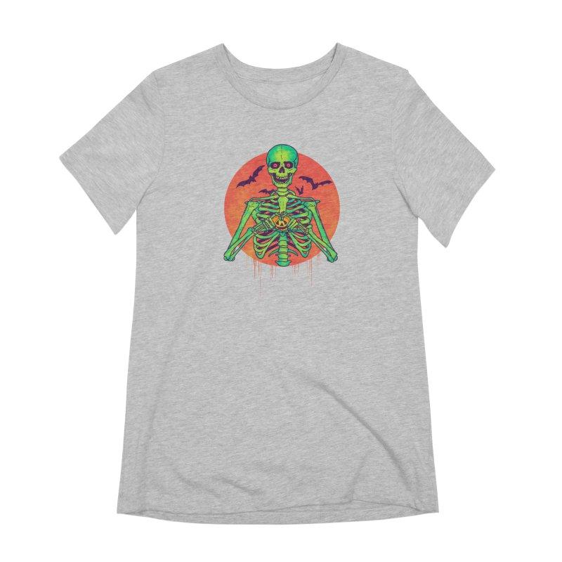 I Love Halloween Women's Extra Soft T-Shirt by hillarywhiterabbit's Artist Shop