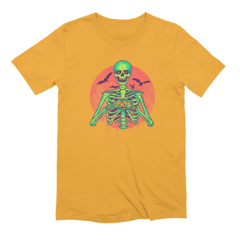 I Love Halloween Men's Extra Soft T-Shirt by hillarywhiterabbit's Artist Shop