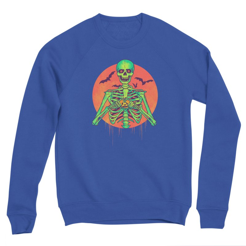 I Love Halloween Men's Sponge Fleece Sweatshirt by hillarywhiterabbit's Artist Shop