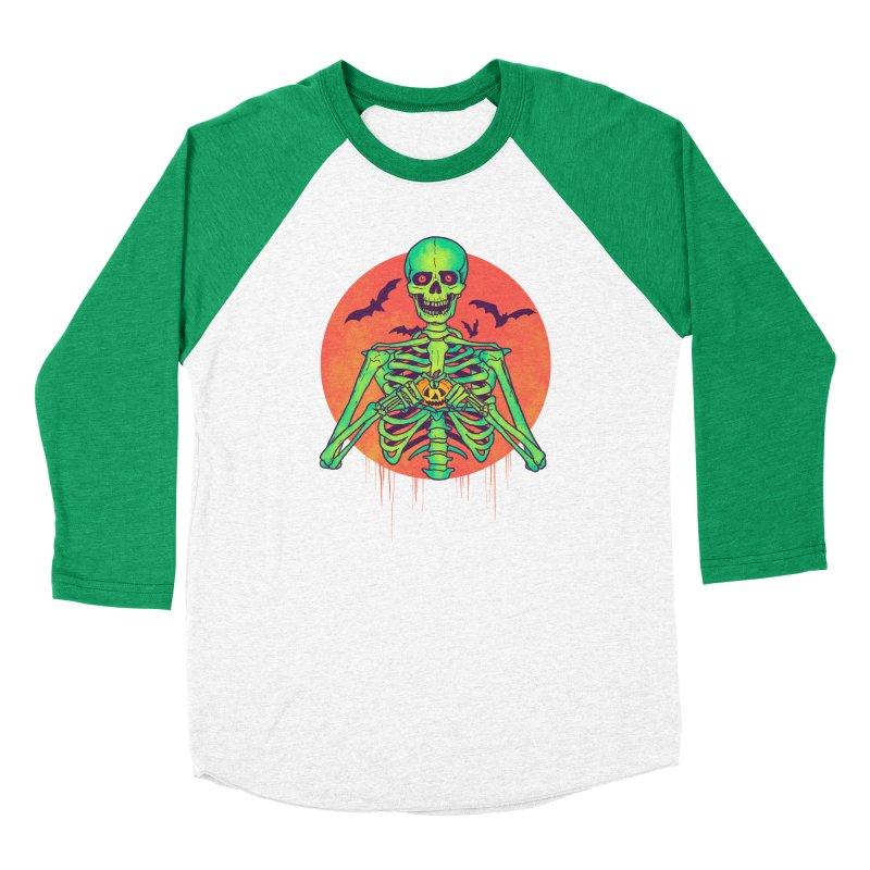 I Love Halloween Women's Baseball Triblend Longsleeve T-Shirt by hillarywhiterabbit's Artist Shop