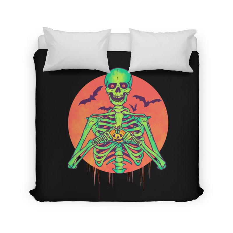 I Love Halloween Home Duvet by hillarywhiterabbit's Artist Shop