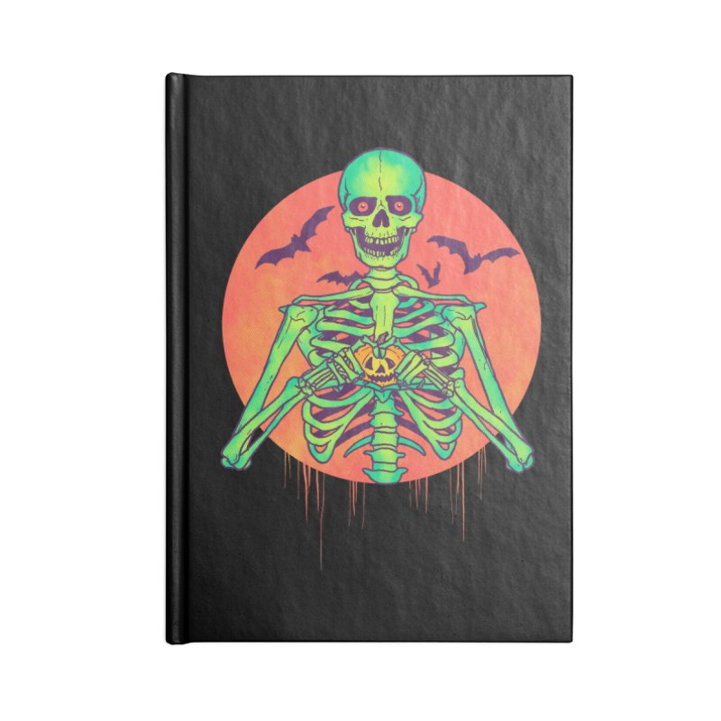 I Love Halloween Accessories Notebook by hillarywhiterabbit's Artist Shop