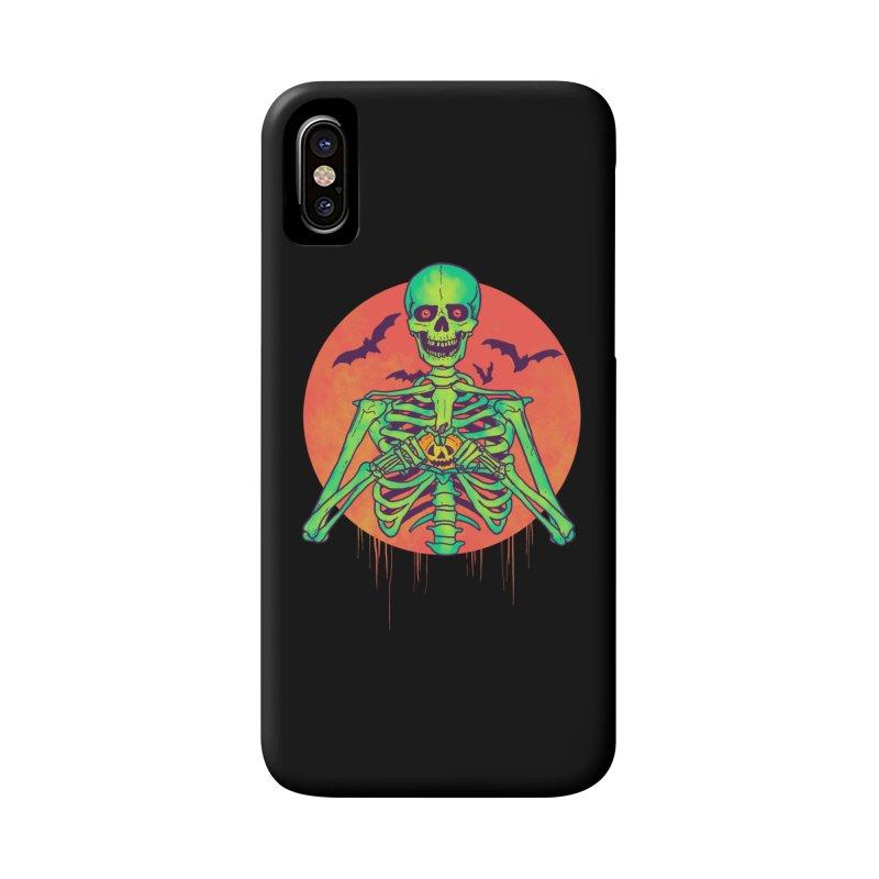 I Love Halloween Accessories Phone Case by hillarywhiterabbit's Artist Shop