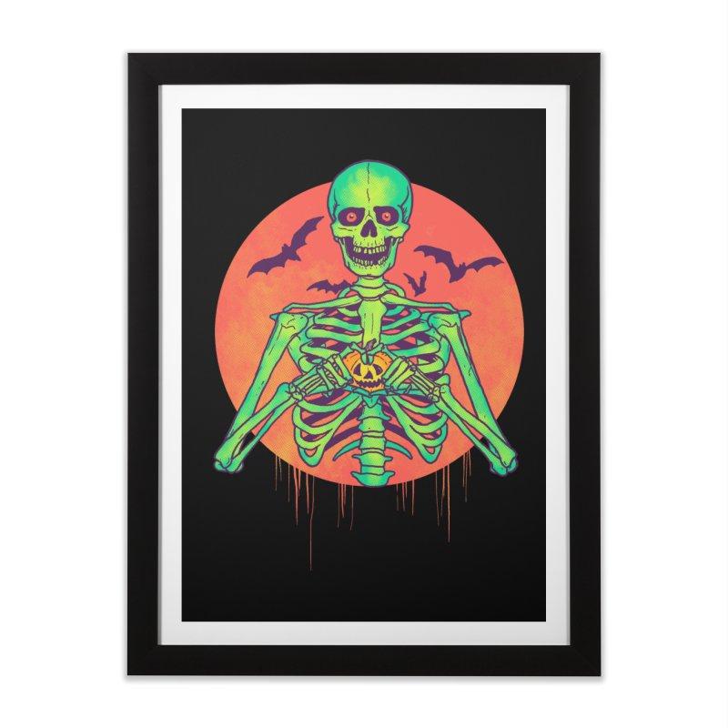 I Love Halloween Home Framed Fine Art Print by hillarywhiterabbit's Artist Shop