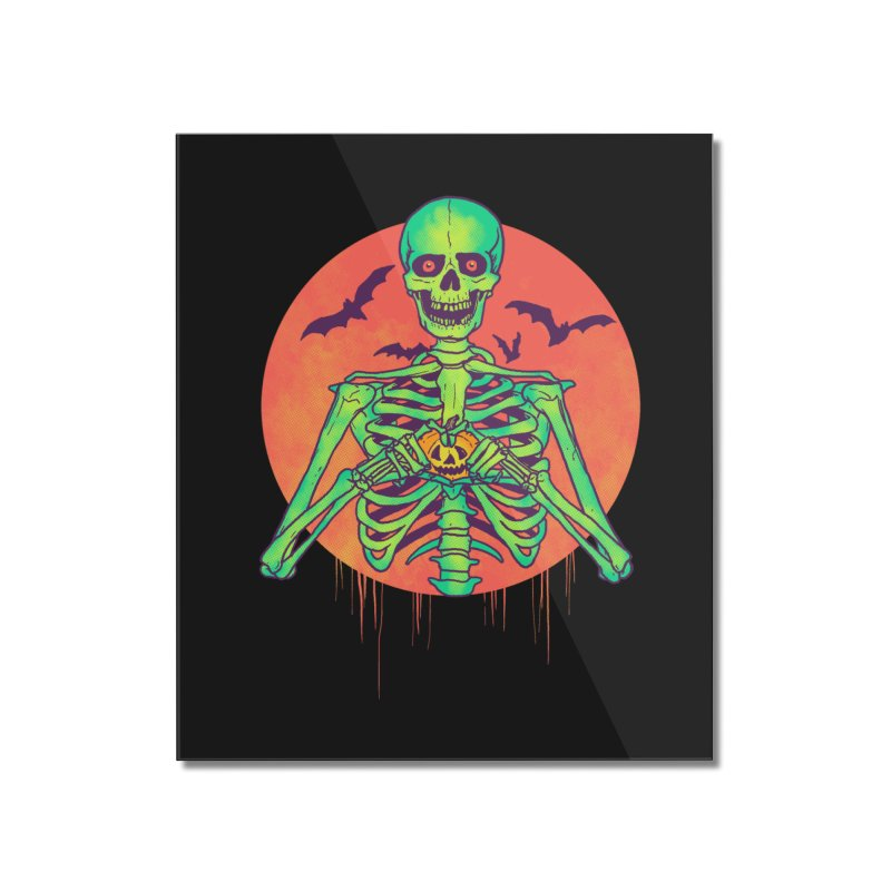 I Love Halloween Home Mounted Acrylic Print by hillarywhiterabbit's Artist Shop