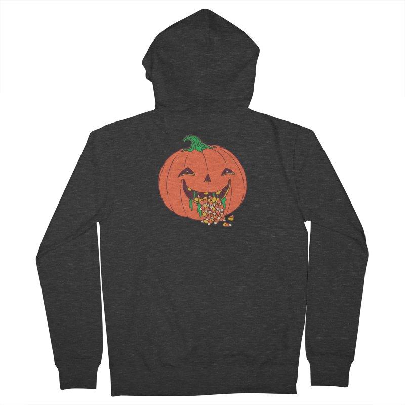 Halloween Hangover Men's French Terry Zip-Up Hoody by hillarywhiterabbit's Artist Shop