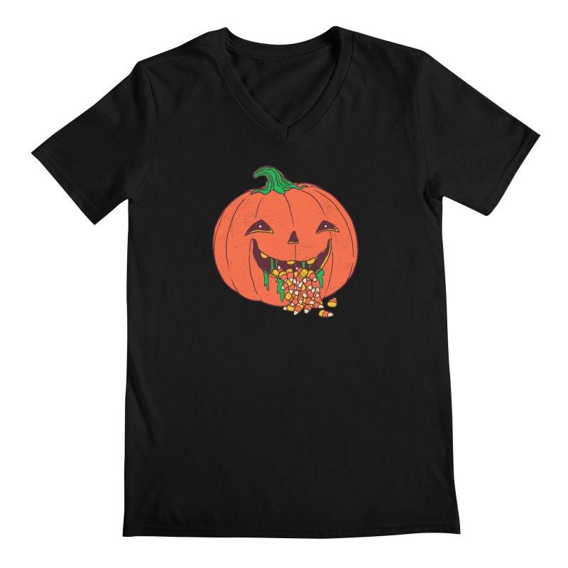 Halloween Hangover Men's Regular V-Neck by hillarywhiterabbit's Artist Shop