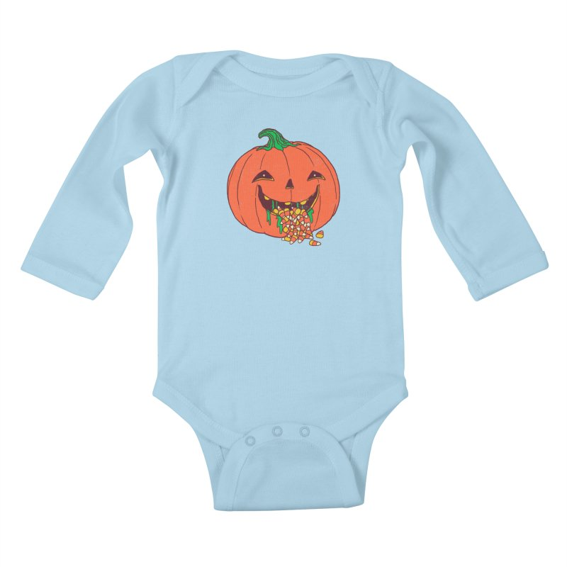 Halloween Hangover Kids Baby Longsleeve Bodysuit by hillarywhiterabbit's Artist Shop