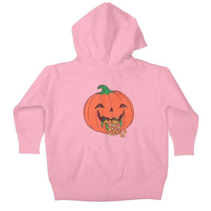 Halloween Hangover Kids Baby Zip-Up Hoody by hillarywhiterabbit's Artist Shop