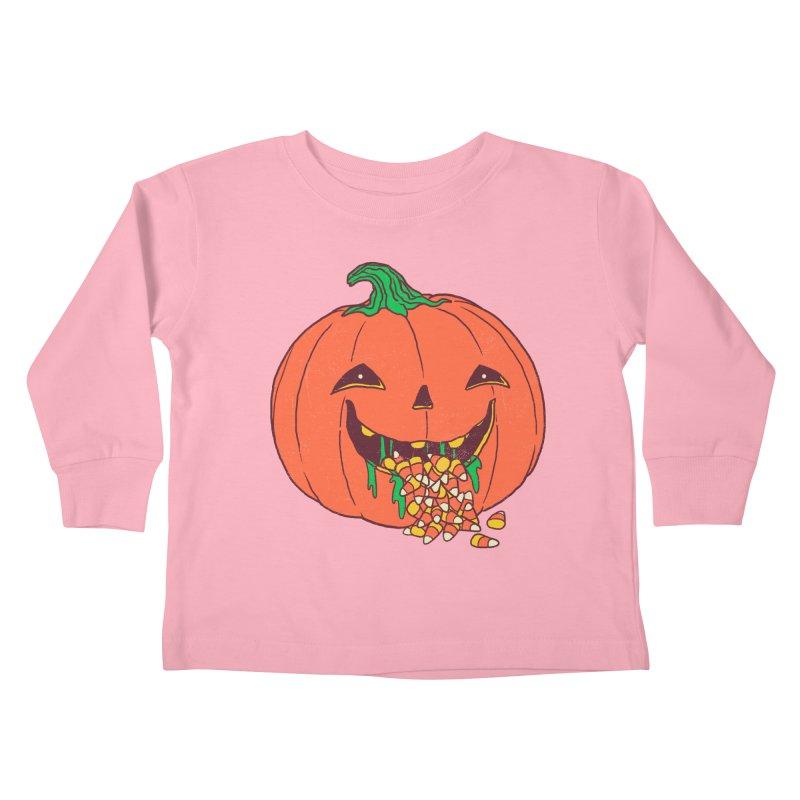 Halloween Hangover Kids Toddler Longsleeve T-Shirt by hillarywhiterabbit's Artist Shop