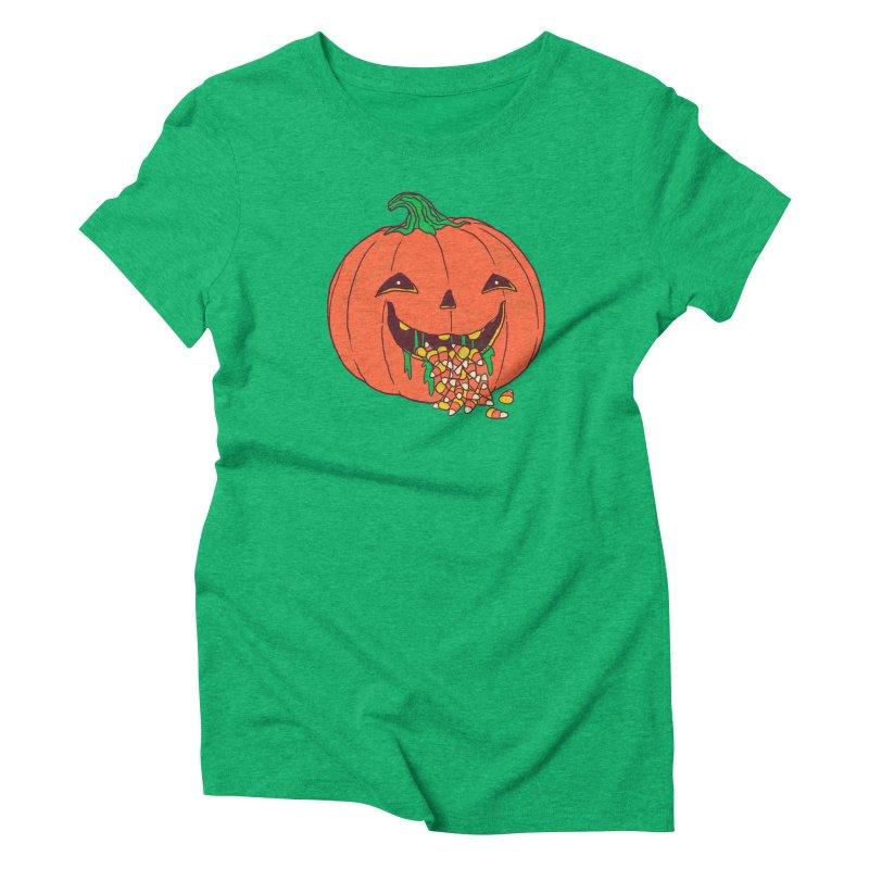Halloween Hangover Women's Triblend T-Shirt by hillarywhiterabbit's Artist Shop