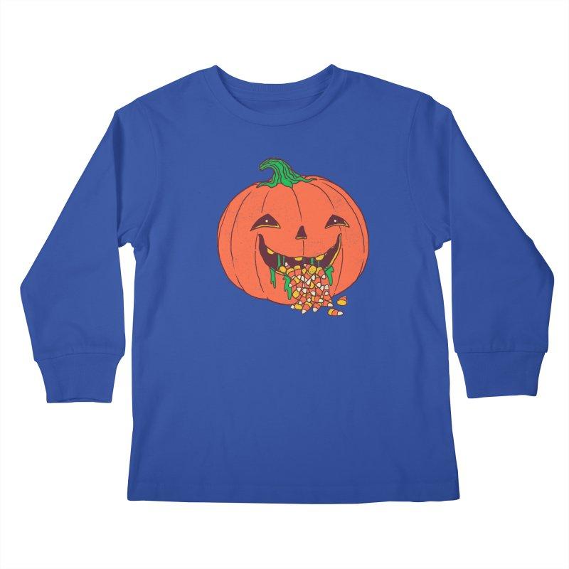 Halloween Hangover Kids Longsleeve T-Shirt by hillarywhiterabbit's Artist Shop