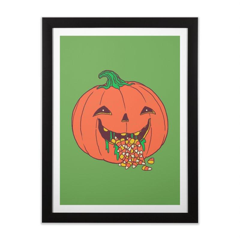Halloween Hangover Home Framed Fine Art Print by hillarywhiterabbit's Artist Shop