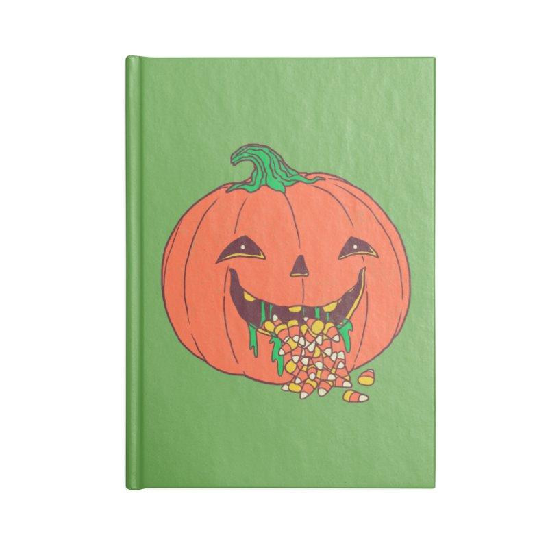 Halloween Hangover Accessories Notebook by hillarywhiterabbit's Artist Shop