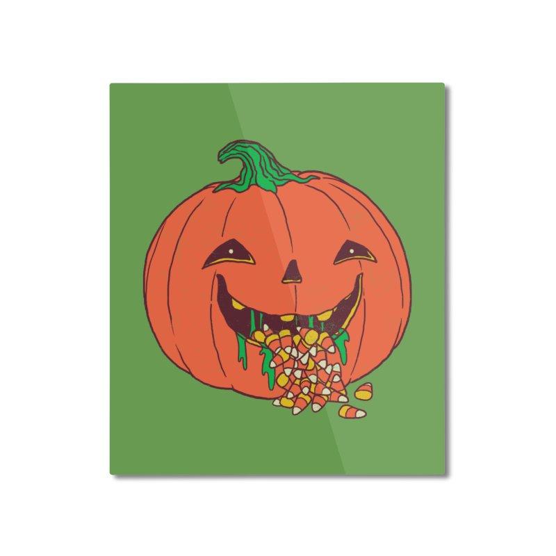 Halloween Hangover Home Mounted Aluminum Print by hillarywhiterabbit's Artist Shop