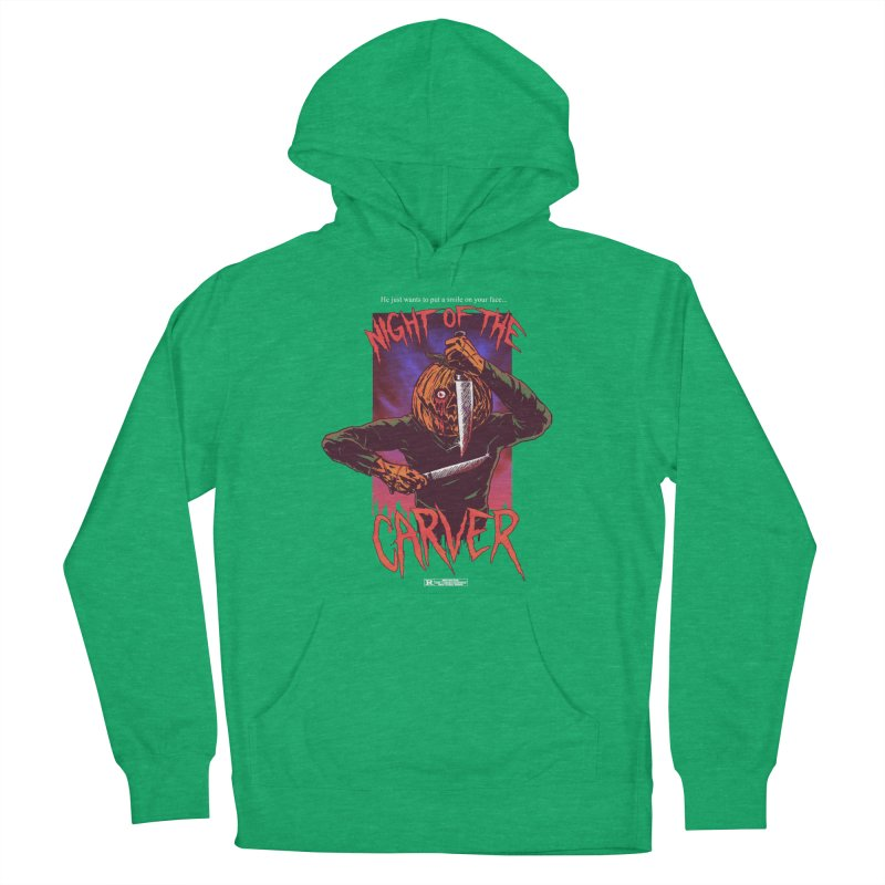 Night of the Carver Men's French Terry Pullover Hoody by hillarywhiterabbit's Artist Shop