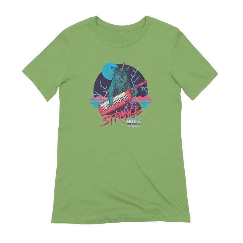 Strange Wolf Women's Extra Soft T-Shirt by hillarywhiterabbit's Artist Shop