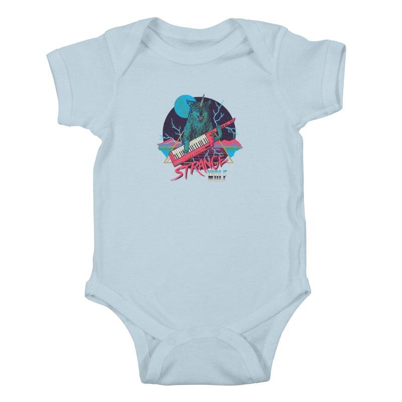 Strange Wolf Kids Baby Bodysuit by hillarywhiterabbit's Artist Shop