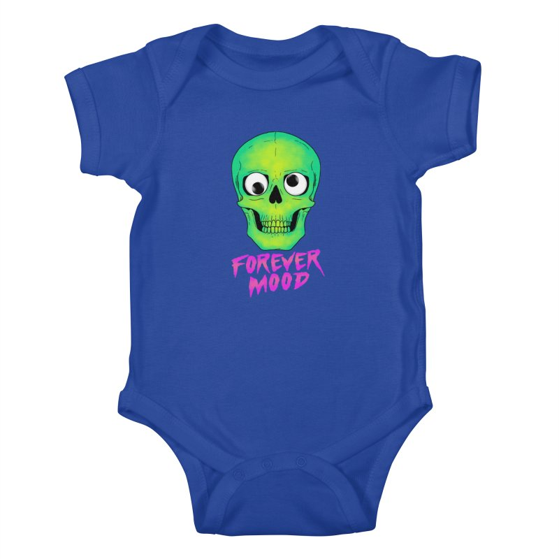 Forever Mood Kids Baby Bodysuit by hillarywhiterabbit's Artist Shop