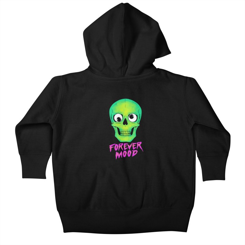 Forever Mood Kids Baby Zip-Up Hoody by hillarywhiterabbit's Artist Shop