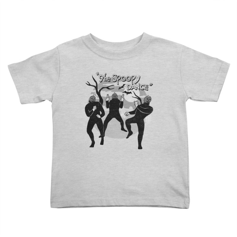 The Spoopy Dance Kids Toddler T-Shirt by hillarywhiterabbit's Artist Shop