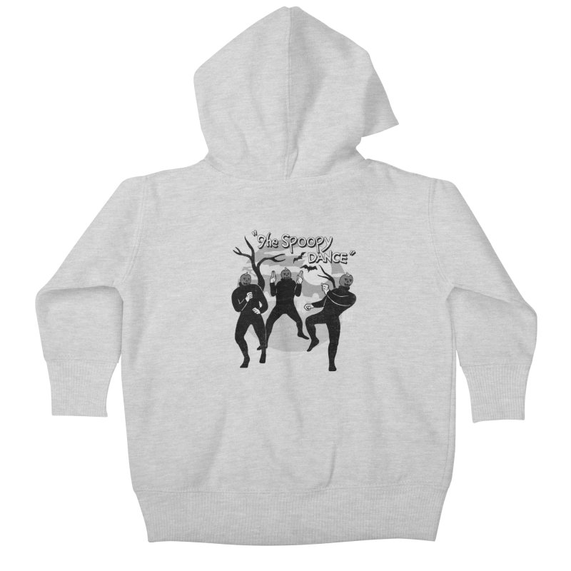The Spoopy Dance Kids Baby Zip-Up Hoody by hillarywhiterabbit's Artist Shop