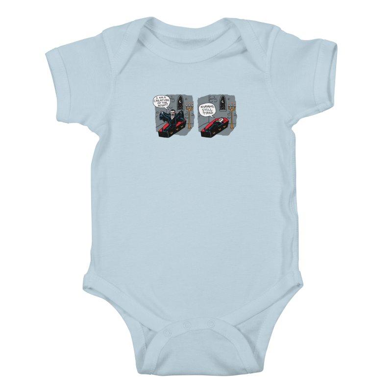 Creature Of The Night Kids Baby Bodysuit by hillarywhiterabbit's Artist Shop
