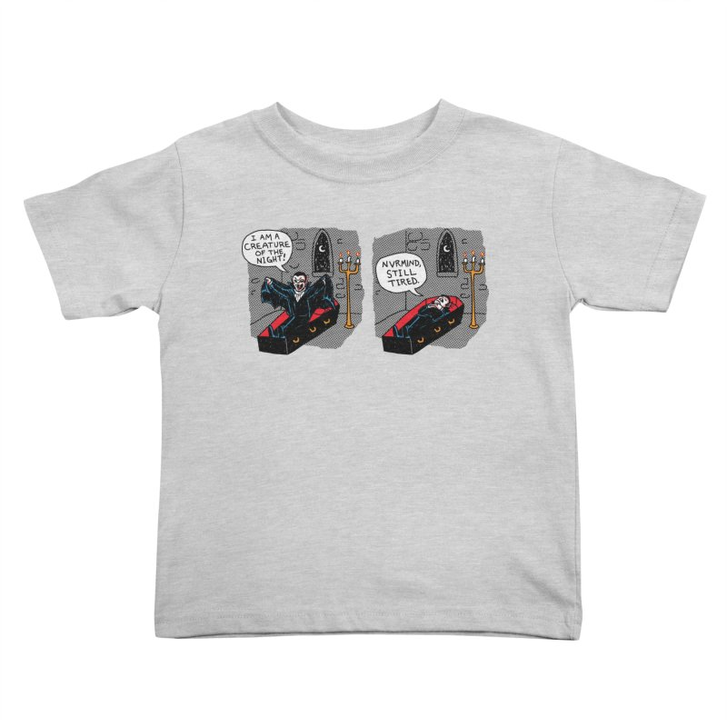 Creature Of The Night Kids Toddler T-Shirt by hillarywhiterabbit's Artist Shop