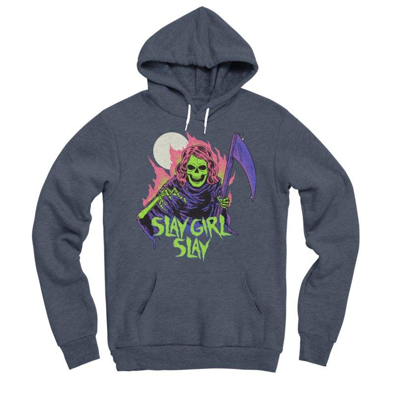 Girl Reaper Women's Sponge Fleece Pullover Hoody by hillarywhiterabbit's Artist Shop