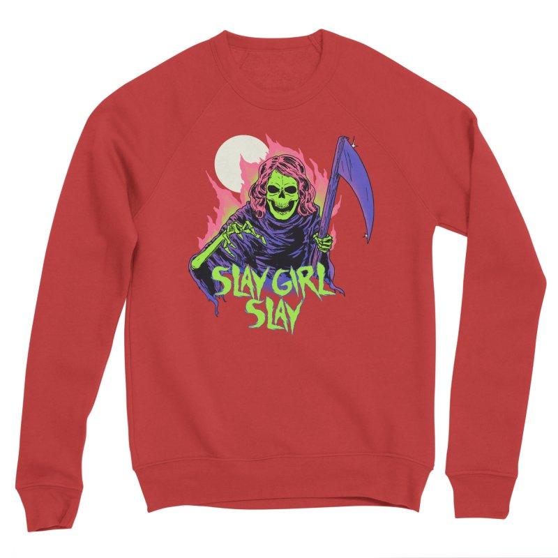 Girl Reaper Women's Sponge Fleece Sweatshirt by hillarywhiterabbit's Artist Shop